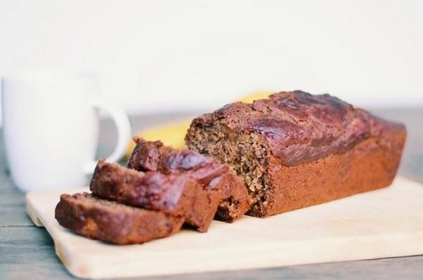 Cake moelleux à la banane (vegan & sans gluten)