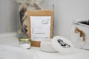 shampooing douche dentifrice déodorant en poudre