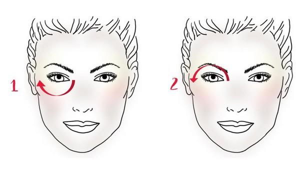 """Résultat de recherche d'images pour """"comment appliquer le soin contour des yeux"""""""