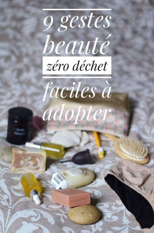 Beauté zéro déchet : 9 gestes faciles à adopter