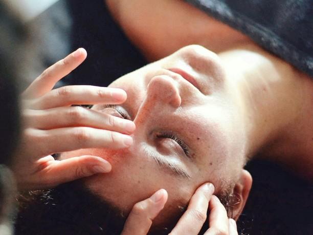 massage facial visage détente naturel