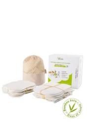 kit eco chou avec gants de change et carrés bébé lavables et réutilisables