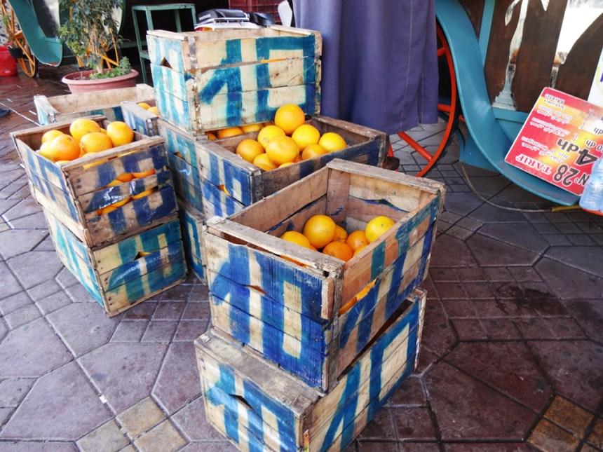 caisses oranges