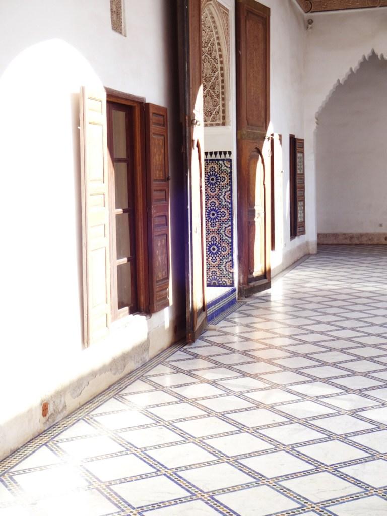 palais de bahia interieur