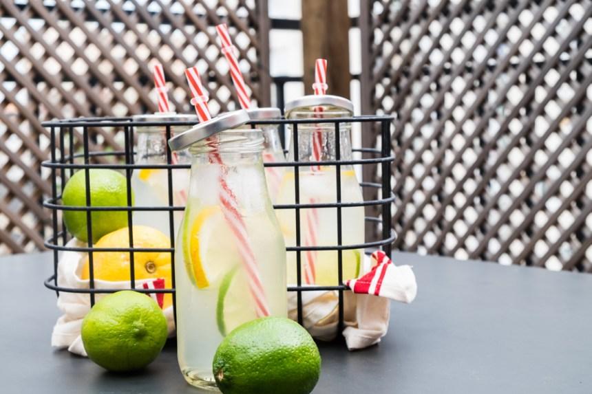 limonade aux deux citrons