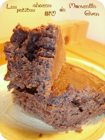 Gâteau chocolat / érable... Quand l'impro confine à l'art...