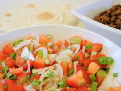 Idée repas express : la tortilla, c'est le bien !