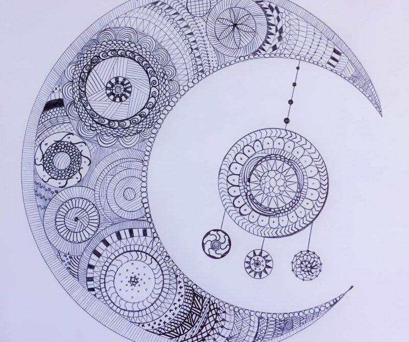 Zentangle (ou coloriage zen) à imprimer