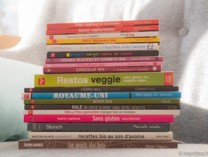Je t'offre mes livres de cuisine !