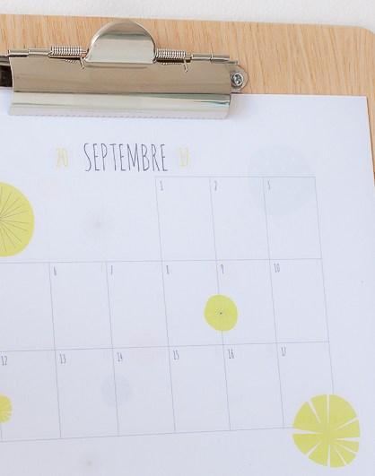 Calendrier familial septembre 2017 à août 2018 (à imprimer)