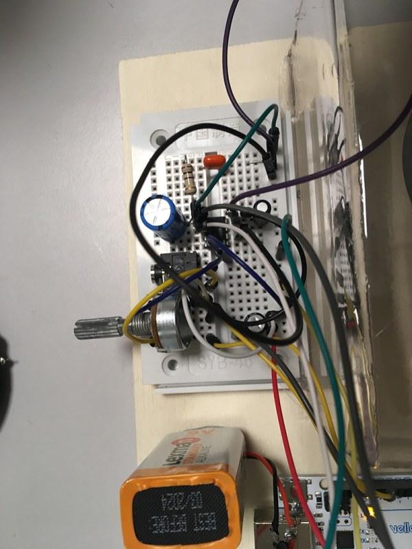 circuit électrique amplificateur audio
