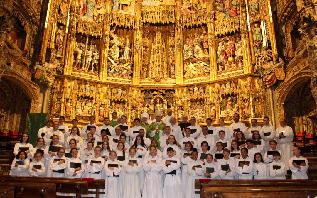 Les Petits Chanteurs de Beauport,  Cathédrale de Toledo, Espagne 2018