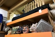 Masques et décors au Muzoo