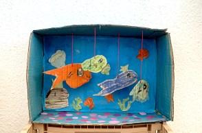 L'aquarium en carton