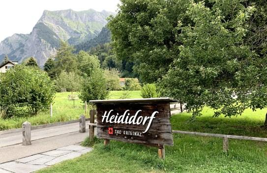 Bienvenue au Village d'Heidi