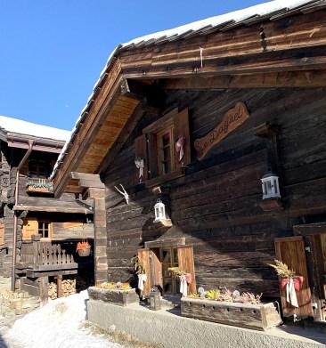 Vieux village de Zinal