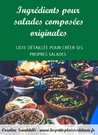 salades composées originales
