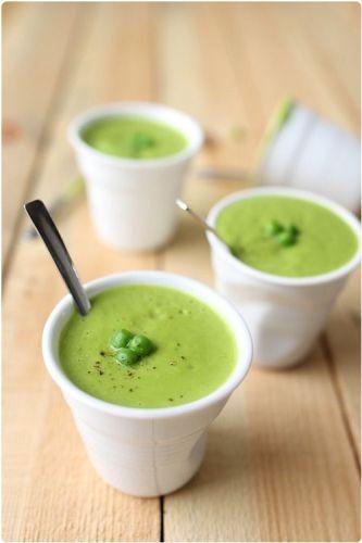 soupe verrine - idées apéro sain