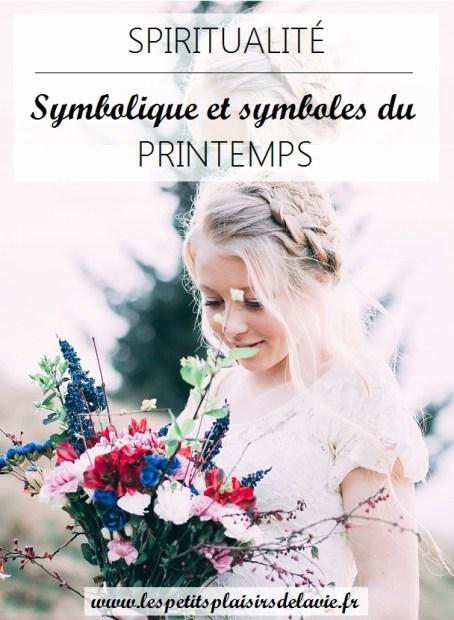 symbolique printemps les petits plaisirs de la vie