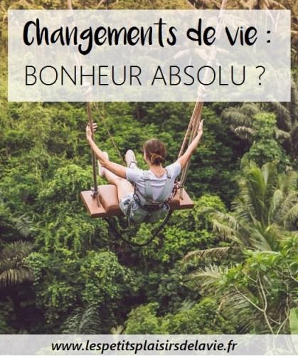 changement voyage heureuse