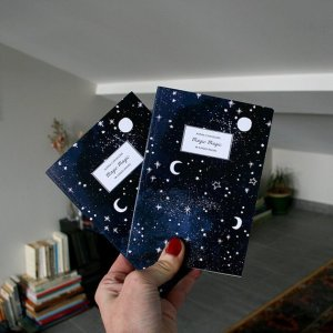 carnet de note lune