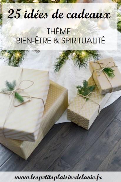 idées cadeaux bien-être développement personnel spiritualité