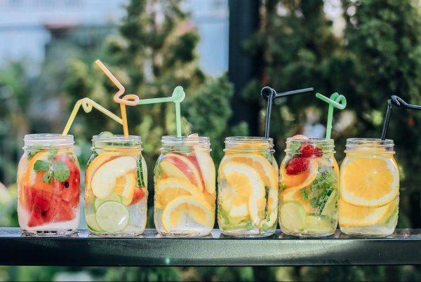 idées eaux aromatisées