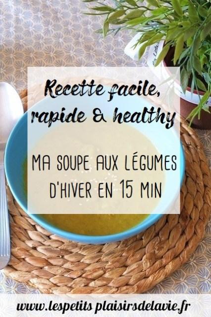 recette de soupe aux légumes d'hiver