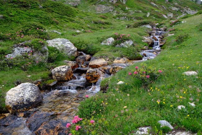 vallée étroite alpes savoie italie