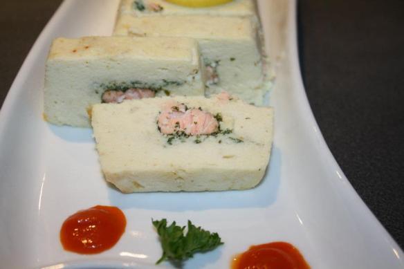 Terinne poisson saumon basilic