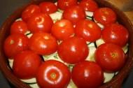 Tian de légumes d'été et sa tapenade d'olive au chèvre frais
