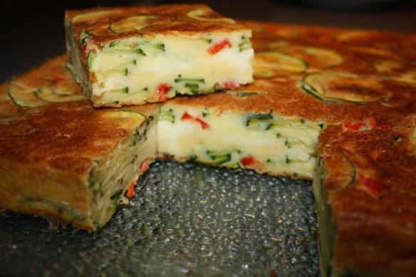 Gâteau de courgettes cœur fondant raclette