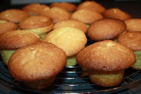 Mini muffins cœur citron lemon curd