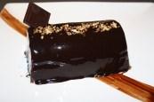 Bûche marquise chocolat