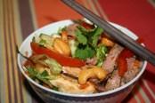 Salade bœuf thaï