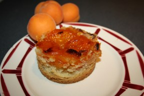 Crumble d'abricots