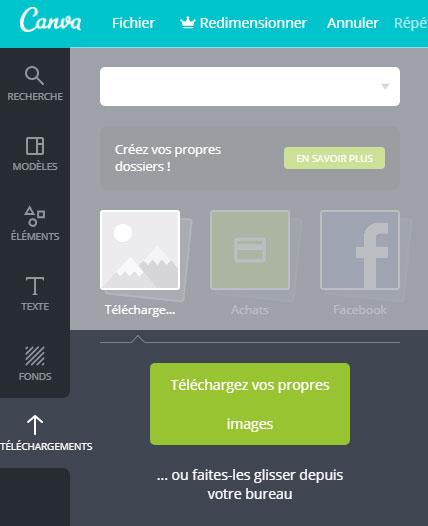 Canva : téléchargez vos images