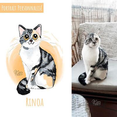 portrait personnalisé de votre animal de compagnie
