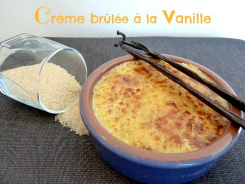 recette de la crème brûlée vanille
