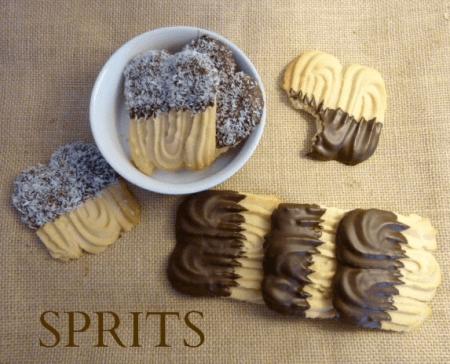 recette des biscuits viennois ou sprits