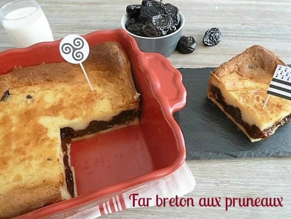 recette du far breton aux pruneaux