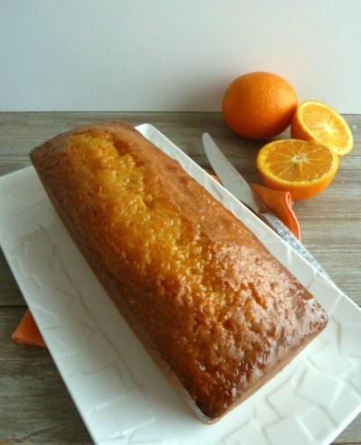 délicieux cake à l'orange