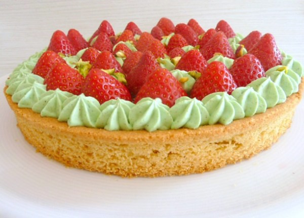 tarte fraises et chantilly