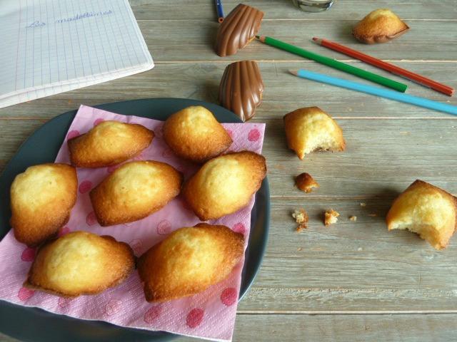 recette des madeleines au chocolat