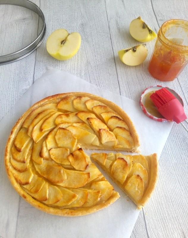 tarte aux pommes facile