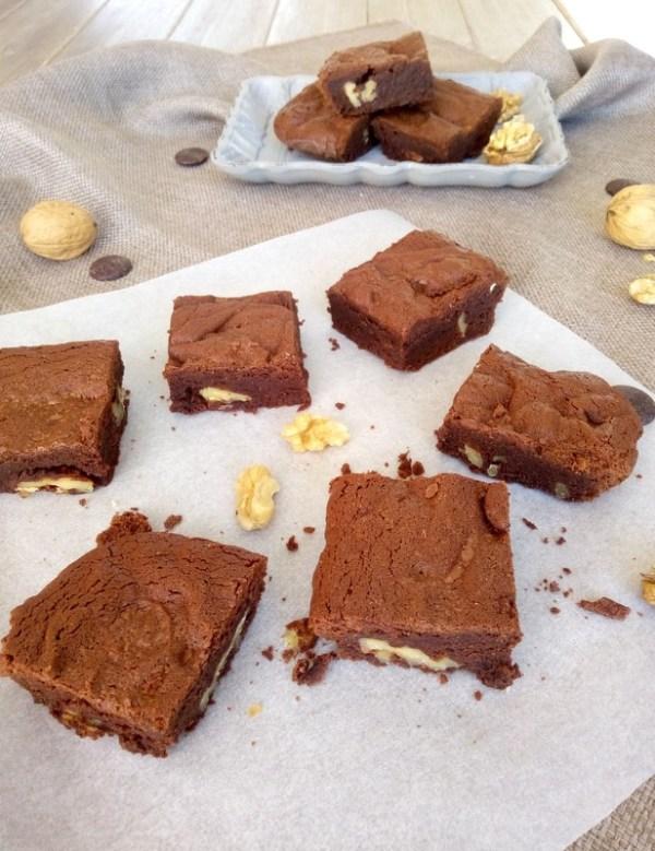 recette du brownies au chocolat et noix