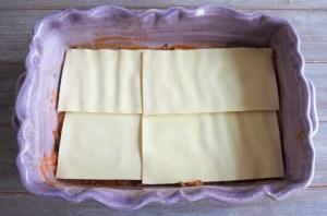 montage des lasagnes