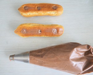 éclairs chocolat