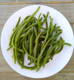 haricots verts cuits