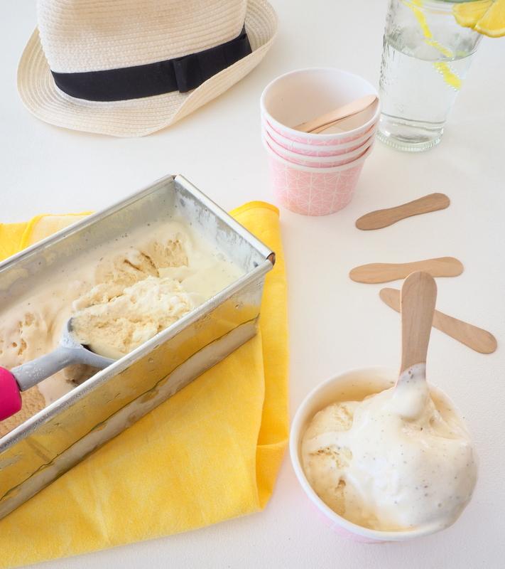 glace vanille crémeuse